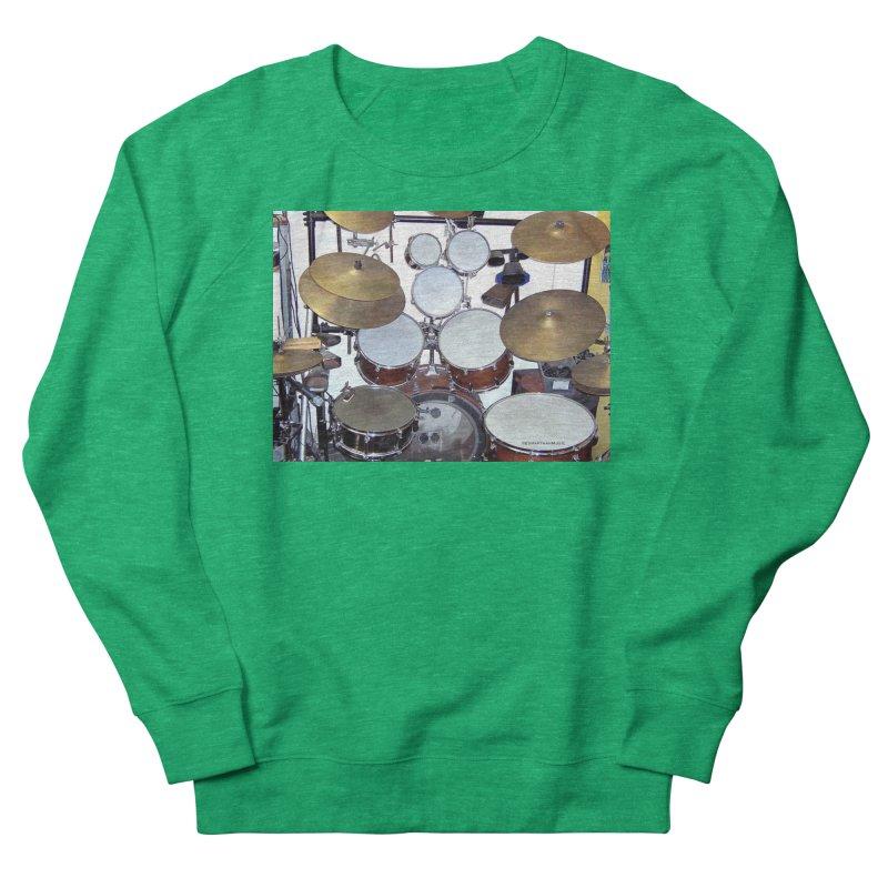 I need a BIG Drumset! Women's Sweatshirt by EdHartmanMusic Swag Shop!