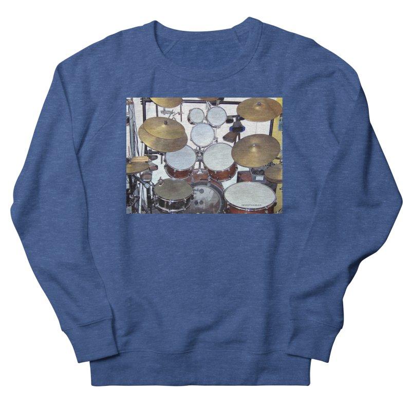 I need a BIG Drumset! Men's Sweatshirt by EdHartmanMusic Swag Shop!