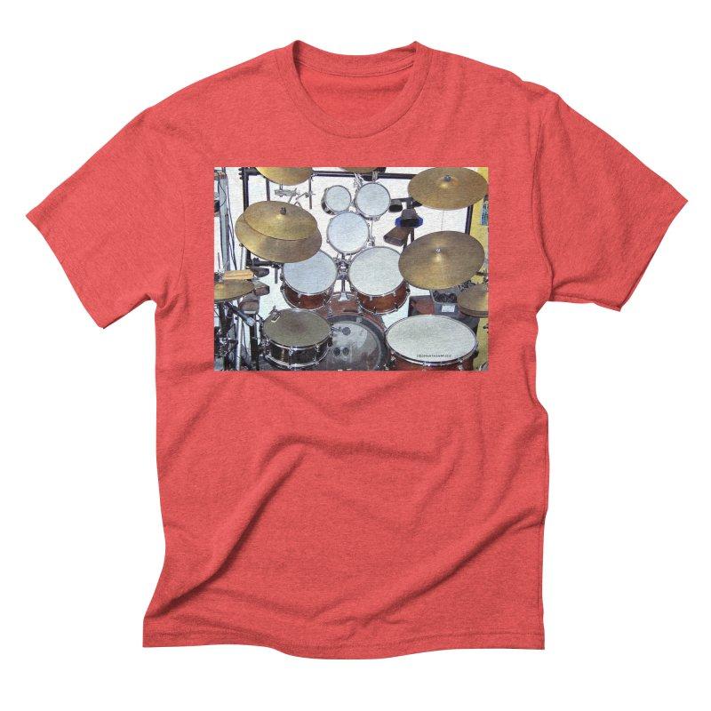 I need a BIG Drumset! Men's Triblend T-Shirt by EdHartmanMusic Swag Shop!