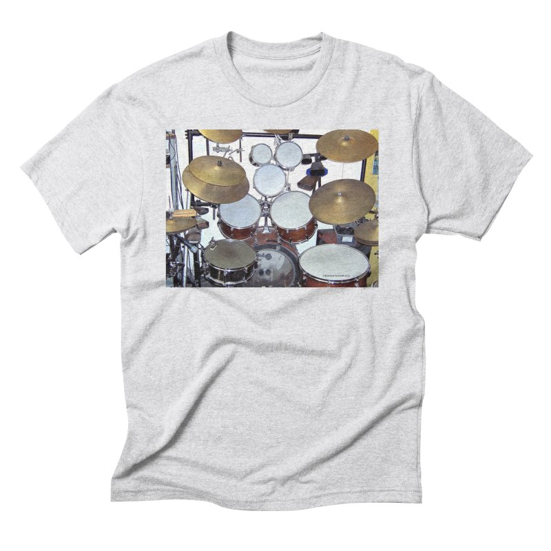 I need a BIG Drumset! Men's Triblend T-Shirt by EdHartmanMusic Swag Shop!