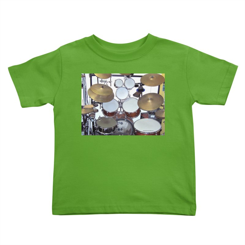 I need a BIG Drumset! Kids Toddler T-Shirt by EdHartmanMusic Swag Shop!