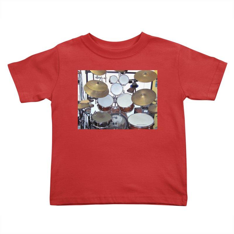 I need a BIG Drumset! Kids Toddler T-Shirt by EdHartmanMusic Swag Shop!