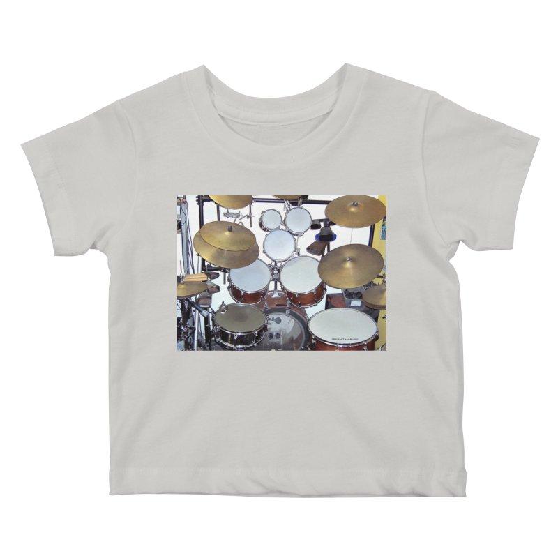 I need a BIG Drumset! Kids Baby T-Shirt by EdHartmanMusic Swag Shop!