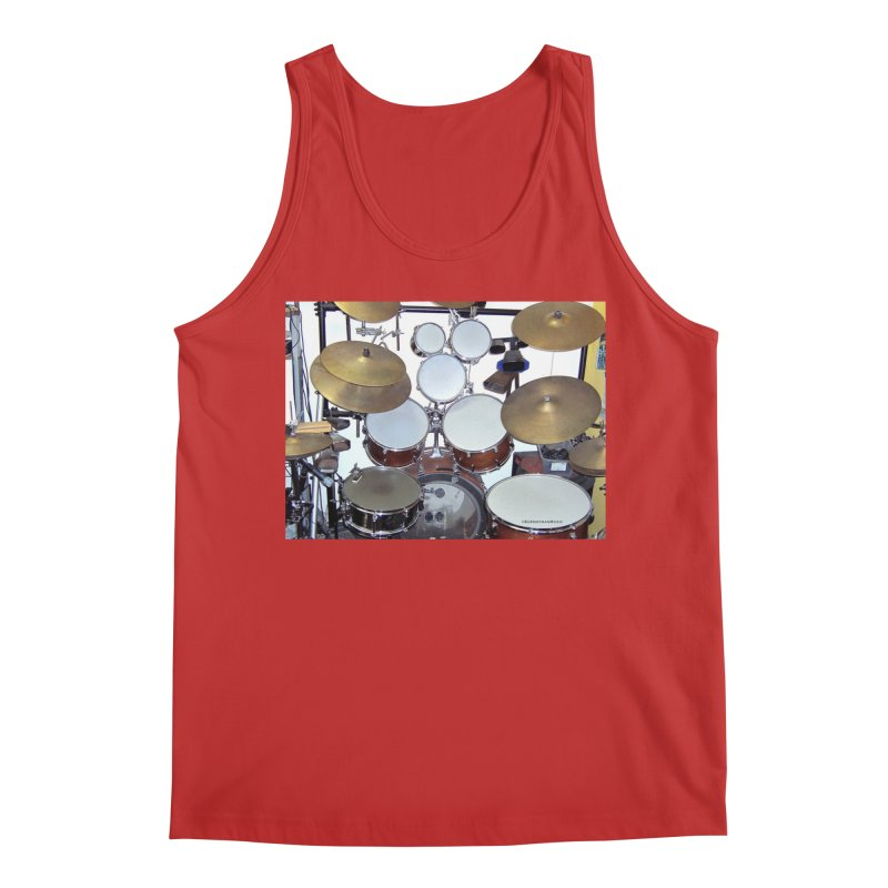 I need a BIG Drumset! Men's Regular Tank by EdHartmanMusic Swag Shop!