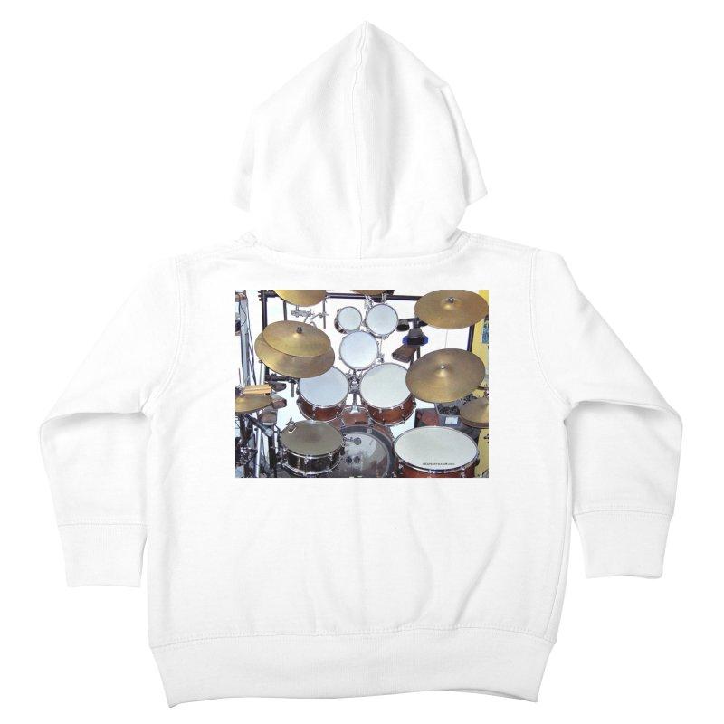 I need a BIG Drumset! Kids Toddler Zip-Up Hoody by EdHartmanMusic Swag Shop!