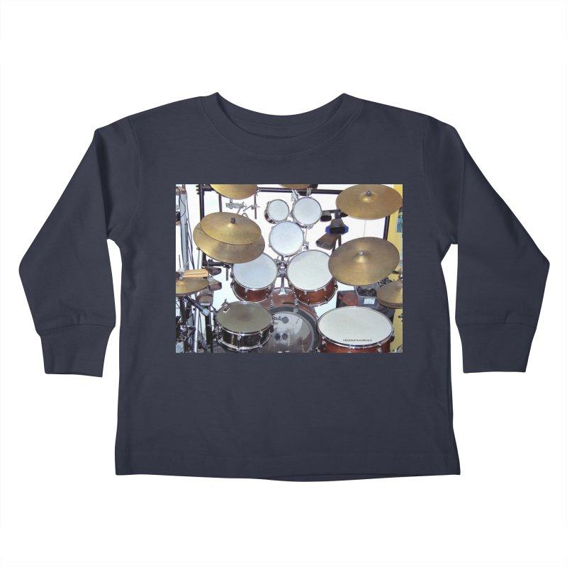 I need a BIG Drumset! Kids Toddler Longsleeve T-Shirt by EdHartmanMusic Swag Shop!
