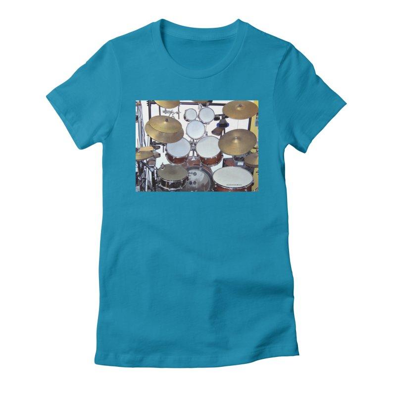 I need a BIG Drumset! Women's T-Shirt by EdHartmanMusic Swag Shop!