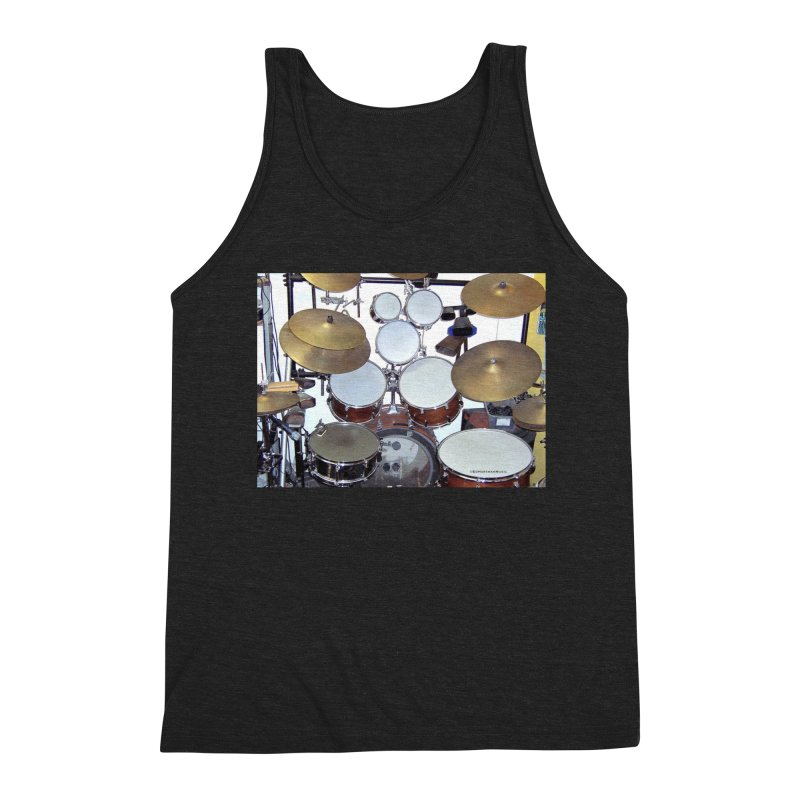 I need a BIG Drumset! Men's Tank by EdHartmanMusic Swag Shop!