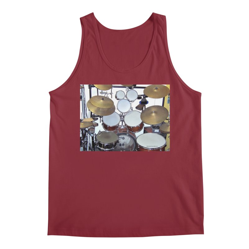 I need a BIG Drumset! Men's Regular Tank by EdHartmanMusic Swag Shop!
