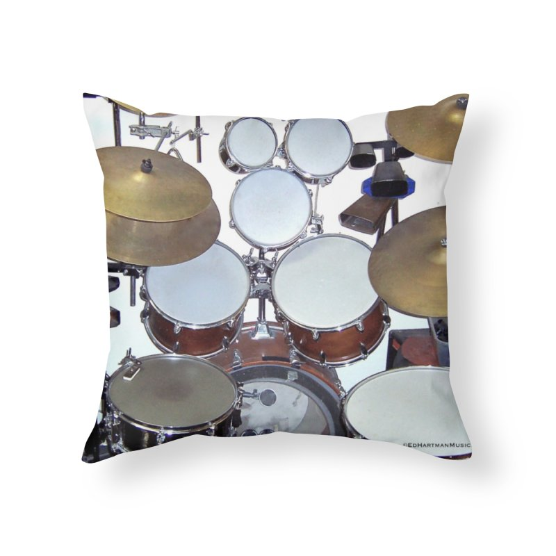 I need a BIG Drumset! Home Throw Pillow by EdHartmanMusic Swag Shop!