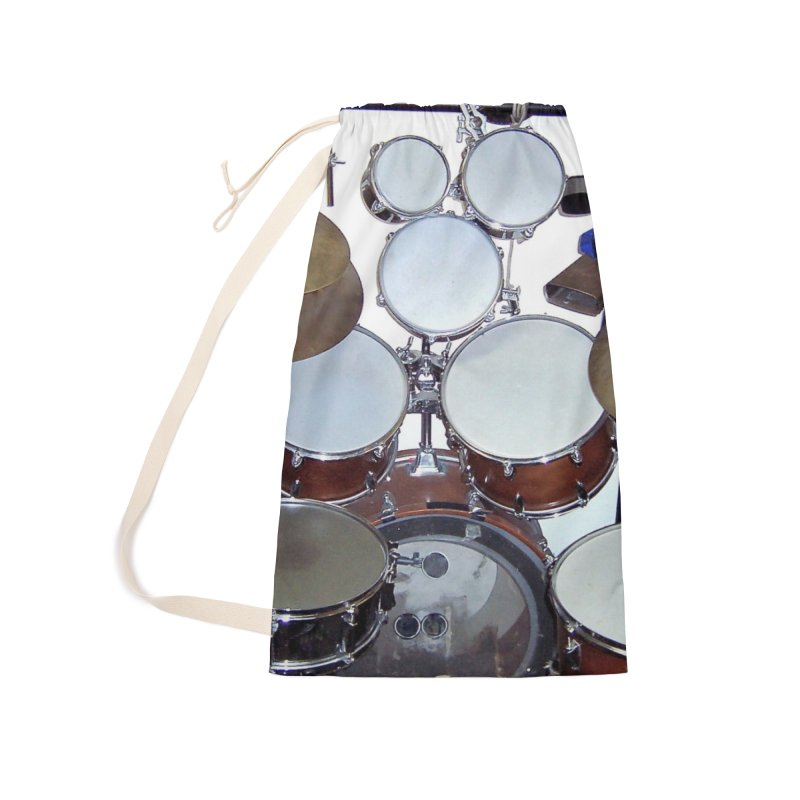 I need a BIG Drumset! Accessories Laundry Bag Bag by EdHartmanMusic Swag Shop!