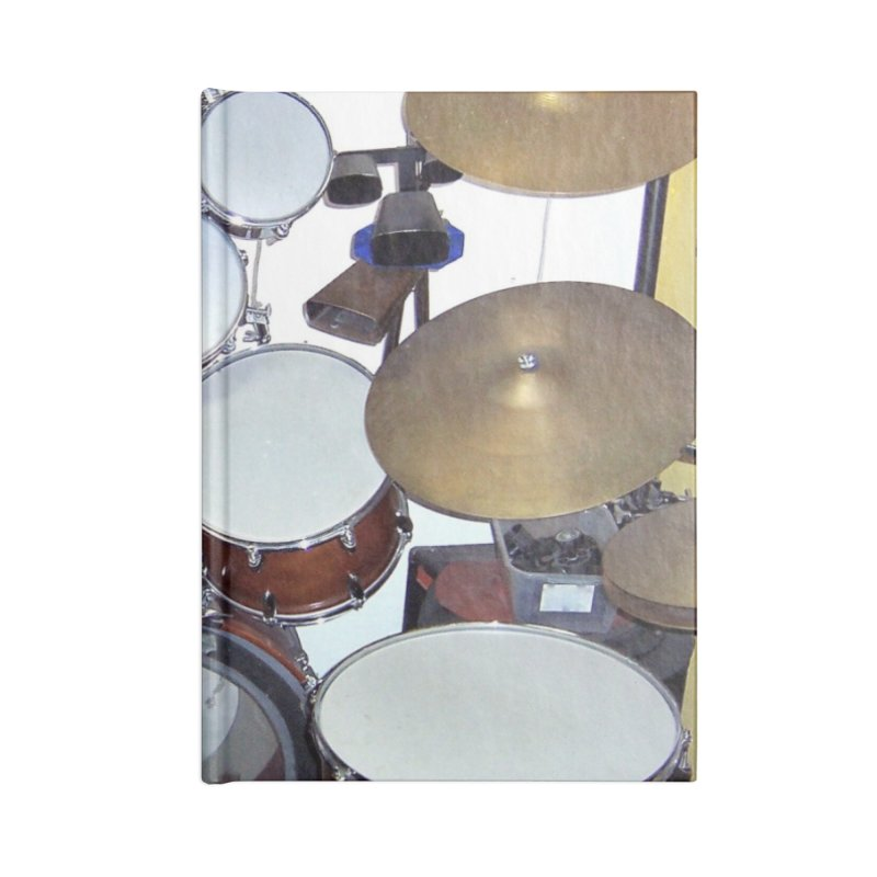 I need a BIG Drumset! Accessories Blank Journal Notebook by EdHartmanMusic Swag Shop!
