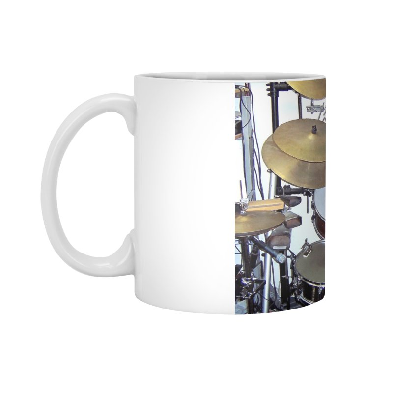 I need a BIG Drumset! Accessories Standard Mug by EdHartmanMusic Swag Shop!