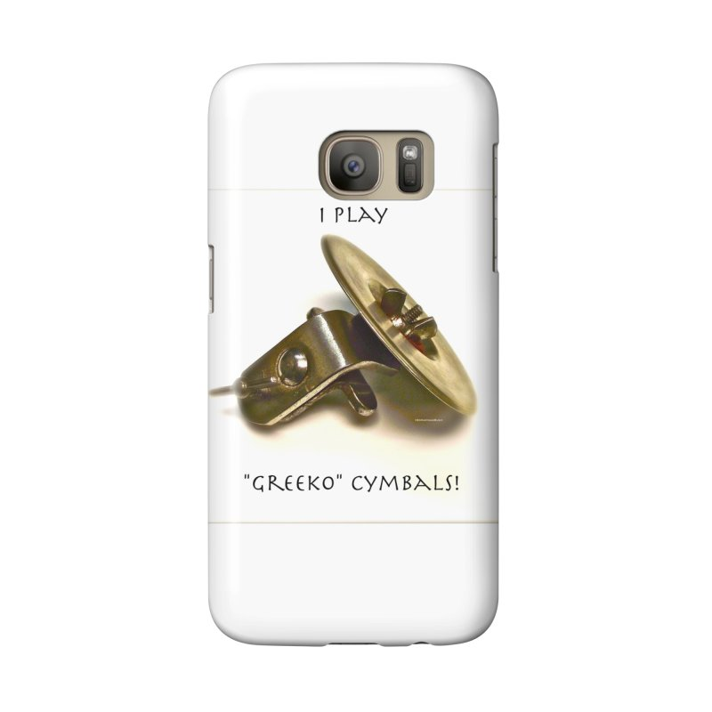 "I Play ""Greeko"" Cymbals! Accessories Phone Case by EdHartmanMusic Swag Shop!"