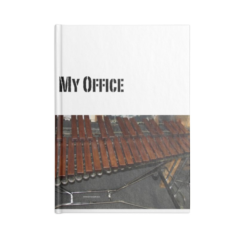 My Office Behind Bars Accessories Blank Journal Notebook by EdHartmanMusic Swag Shop!
