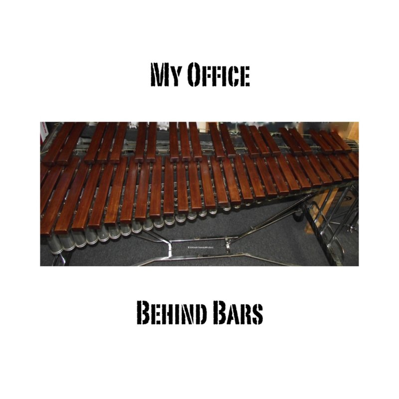 My Office Behind Bars Home Stretched Canvas by EdHartmanMusic Swag Shop!