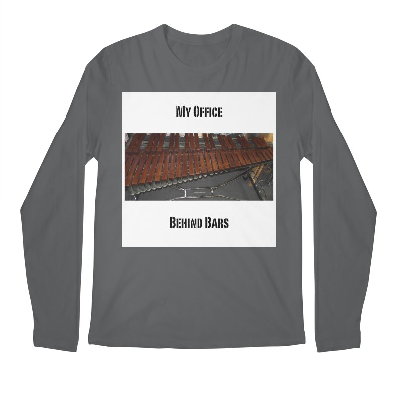 My Office Behind Bars Men's Longsleeve T-Shirt by EdHartmanMusic Swag Shop!
