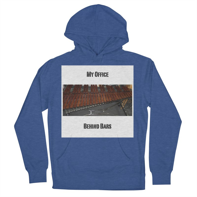 My Office Behind Bars Women's French Terry Pullover Hoody by EdHartmanMusic Swag Shop!