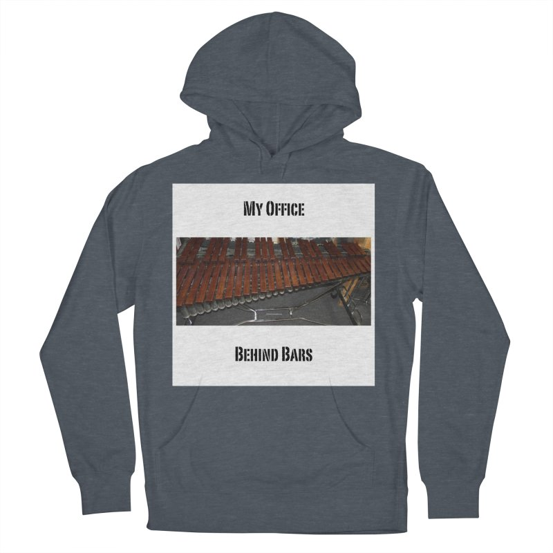 My Office Behind Bars Men's French Terry Pullover Hoody by EdHartmanMusic Swag Shop!