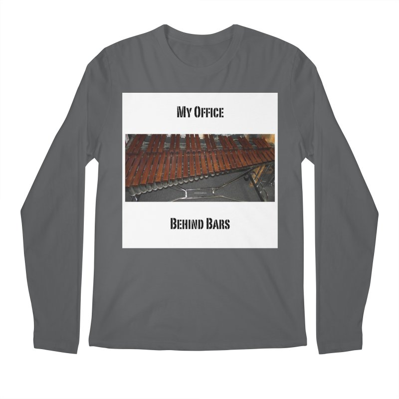 My Office Behind Bars Men's Regular Longsleeve T-Shirt by EdHartmanMusic Swag Shop!