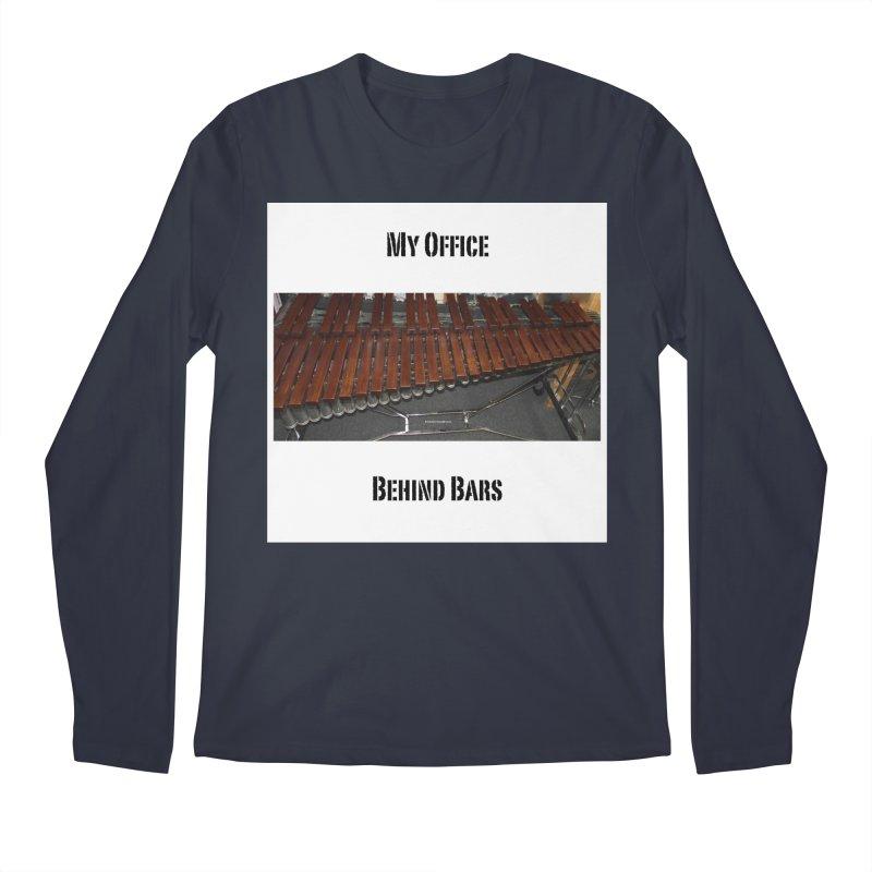 My Office Behind Bars Men's Regular Longsleeve T-Shirt by EdHartmanMusic Swag Shop!