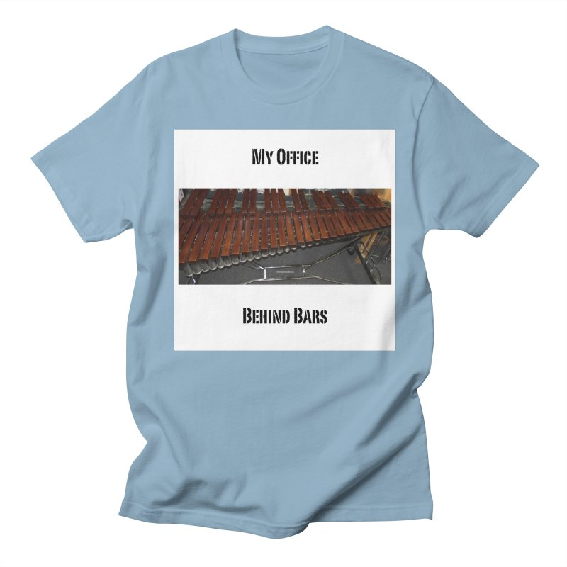My Office Behind Bars Men's Regular T-Shirt by EdHartmanMusic Swag Shop!