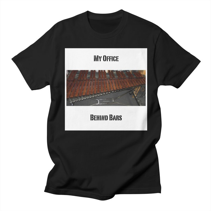 My Office Behind Bars Women's Regular Unisex T-Shirt by EdHartmanMusic Swag Shop!