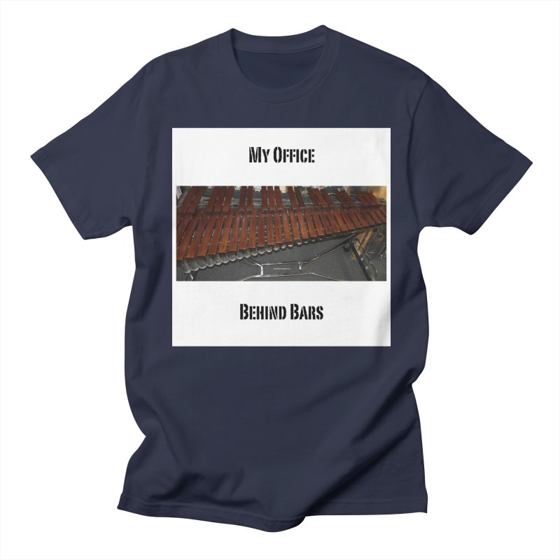 My Office Behind Bars Women's Regular Unisex T-Shirt by EdHartmanMusic Swag Shop!