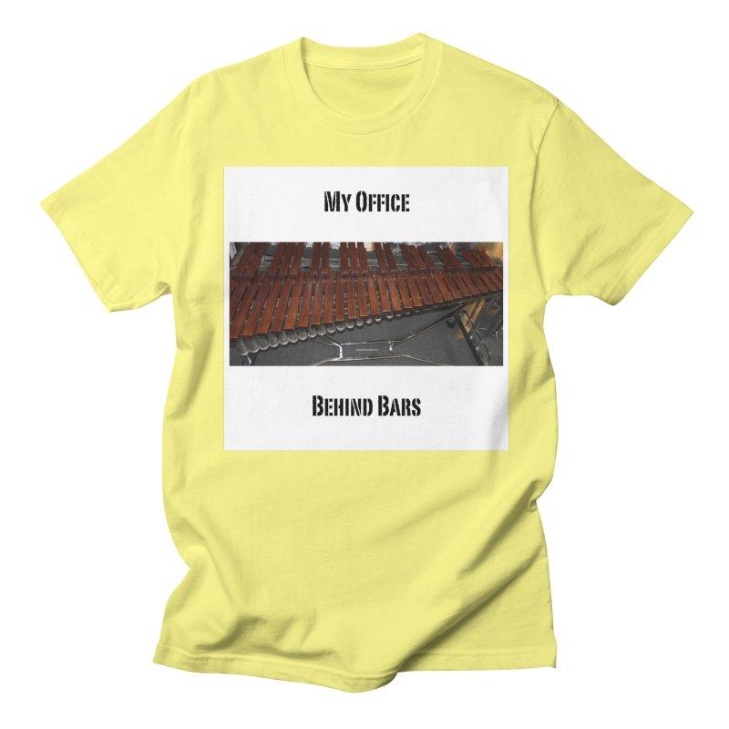 My Office Behind Bars Men's Regular T-Shirt by EdHartmanMusic Swag Shop!