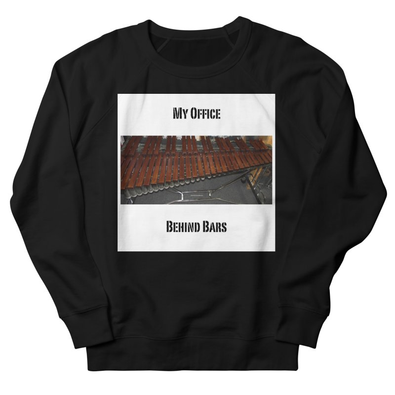 My Office Behind Bars Men's Sweatshirt by EdHartmanMusic Swag Shop!