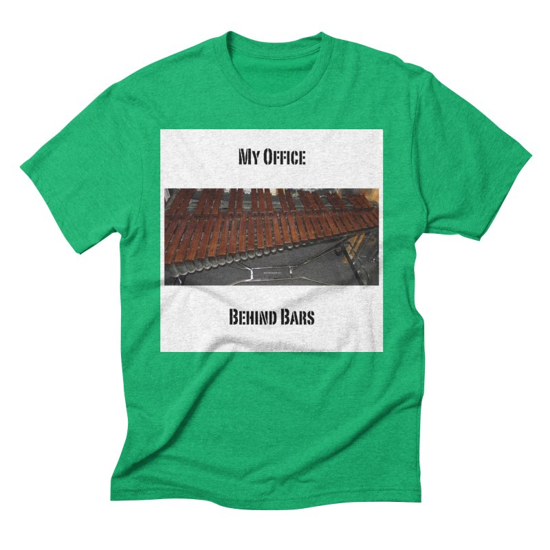 My Office Behind Bars Men's Triblend T-Shirt by EdHartmanMusic Swag Shop!