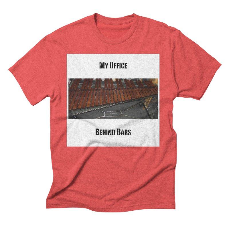 My Office Behind Bars Men's Triblend T-Shirt by EdHartmanMusic Swag Shop!