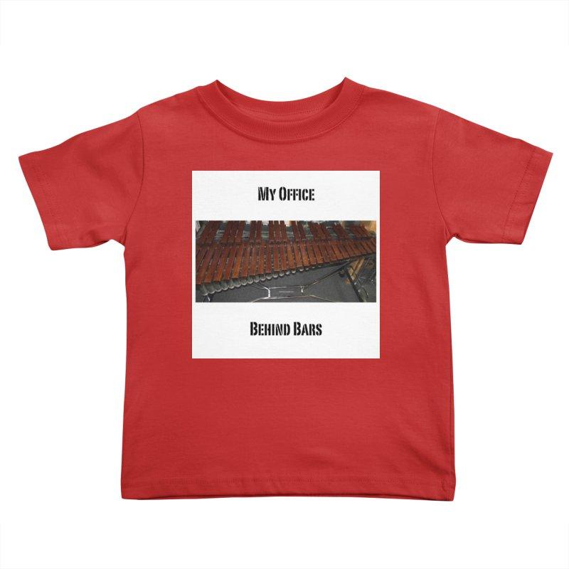 My Office Behind Bars Kids Toddler T-Shirt by EdHartmanMusic Swag Shop!