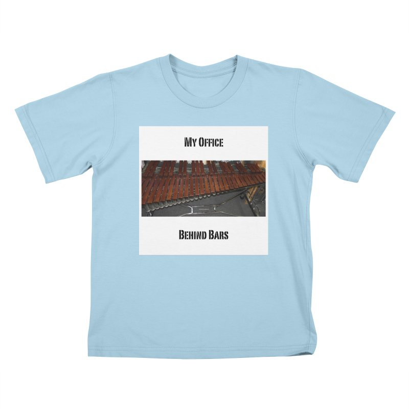 My Office Behind Bars Kids T-Shirt by EdHartmanMusic Swag Shop!