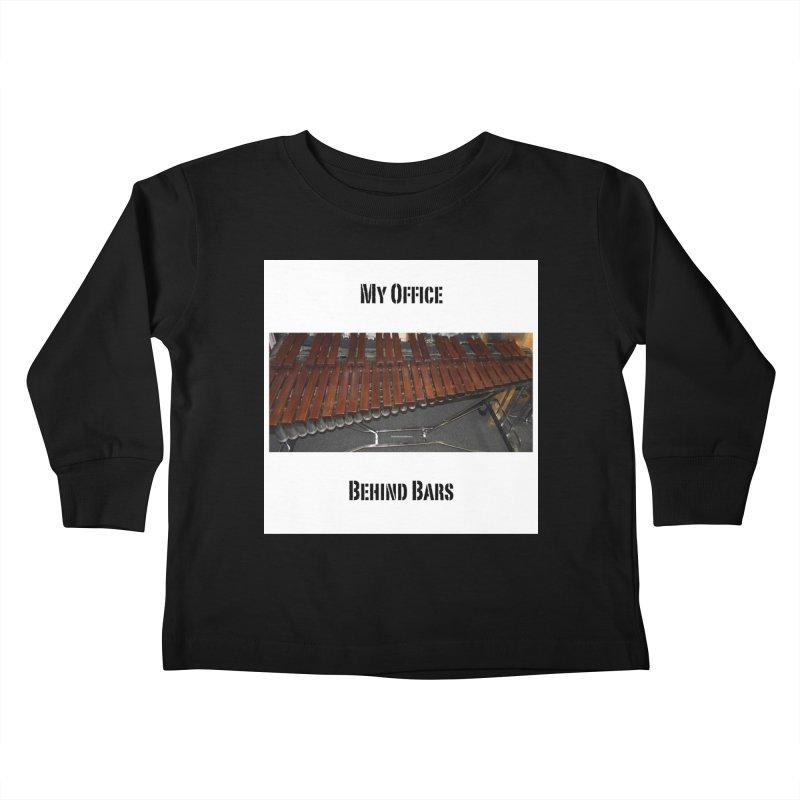 My Office Behind Bars Kids Toddler Longsleeve T-Shirt by EdHartmanMusic Swag Shop!