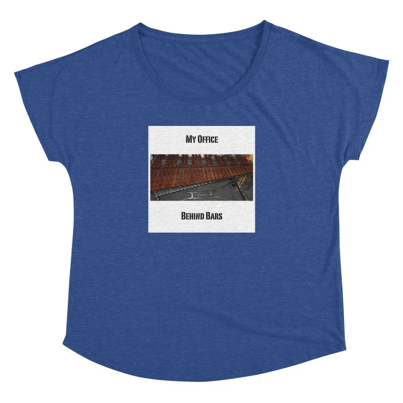My Office Behind Bars Women's Dolman Scoop Neck by EdHartmanMusic Swag Shop!