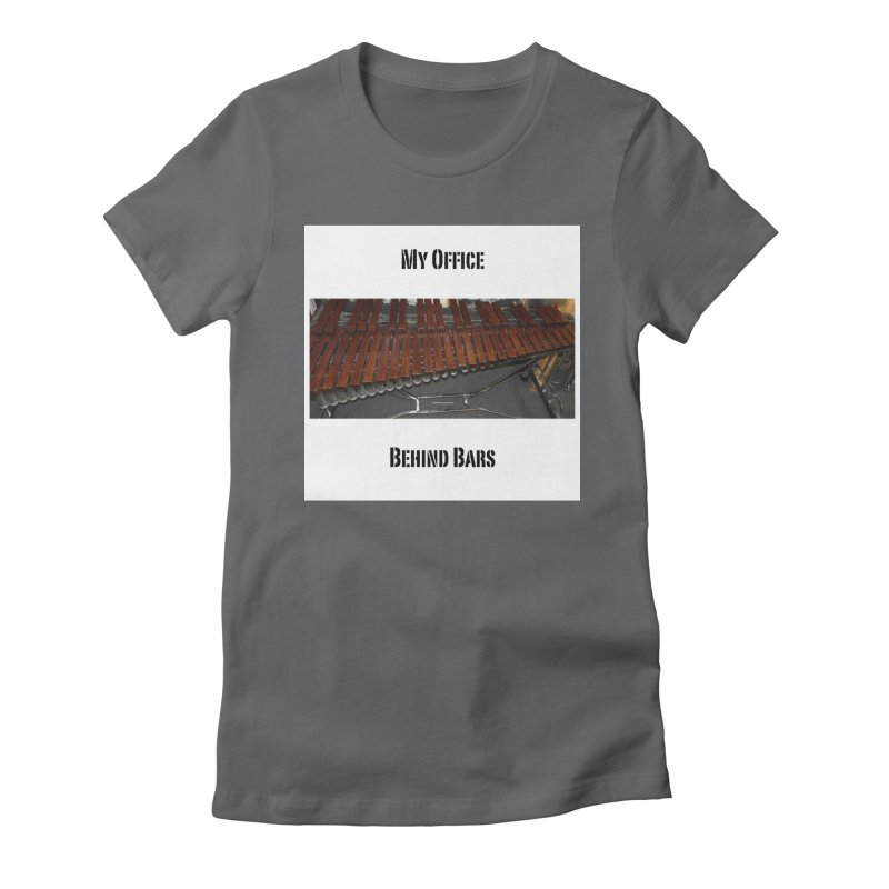My Office Behind Bars Women's T-Shirt by EdHartmanMusic Swag Shop!