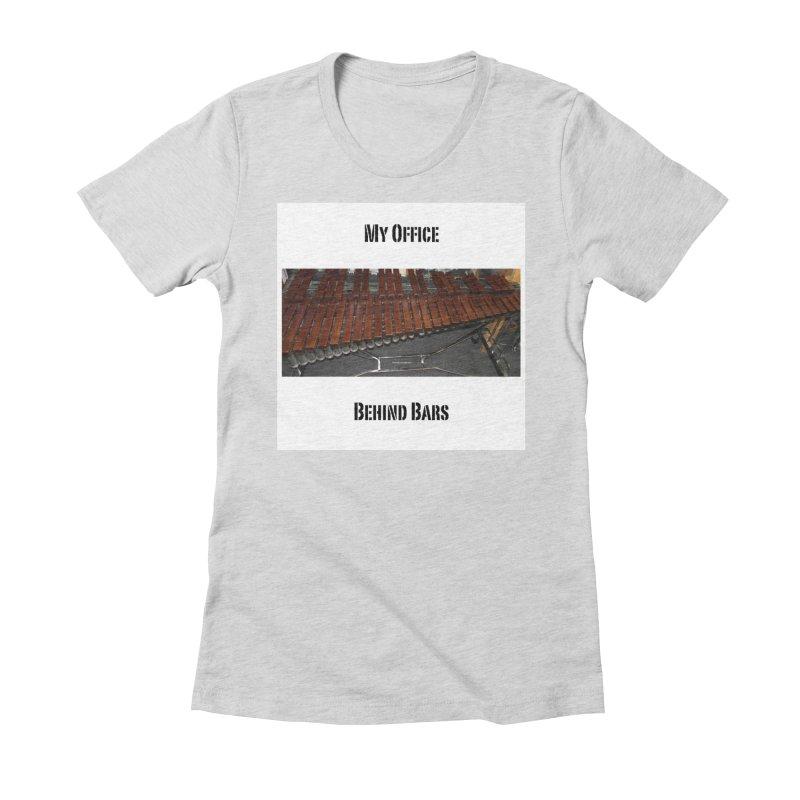My Office Behind Bars Women's T-Shirt by EdHartmanMusic Swag Shop!