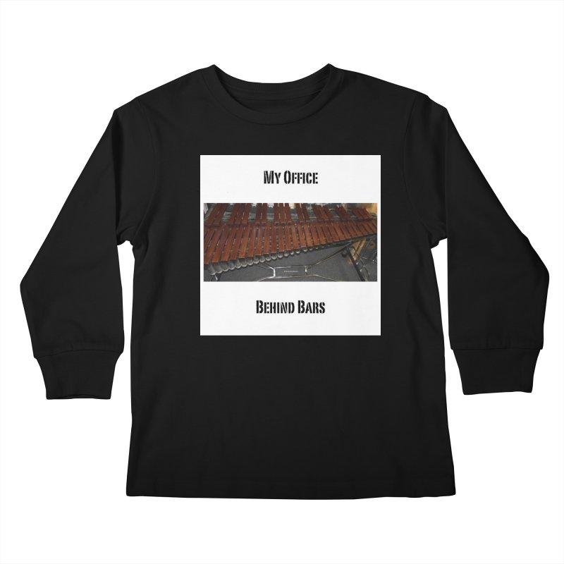 My Office Behind Bars Kids Longsleeve T-Shirt by EdHartmanMusic Swag Shop!