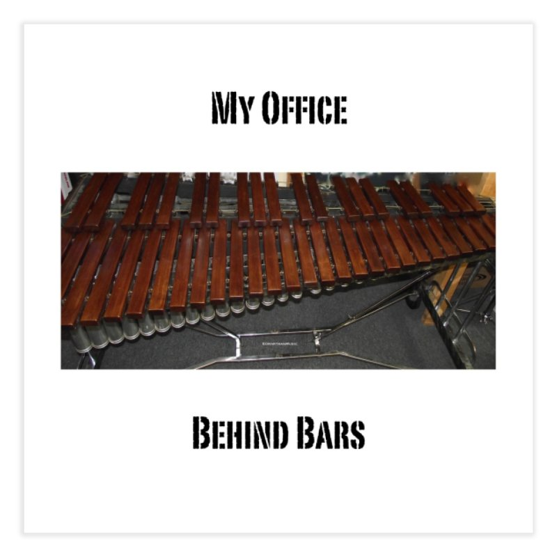My Office Behind Bars Home Fine Art Print by EdHartmanMusic Swag Shop!