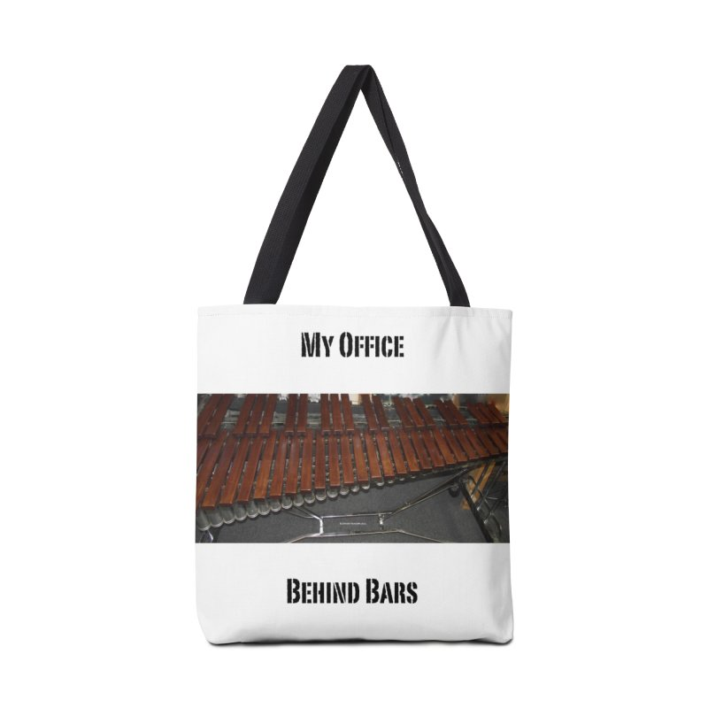 My Office Behind Bars Accessories Tote Bag Bag by EdHartmanMusic Swag Shop!