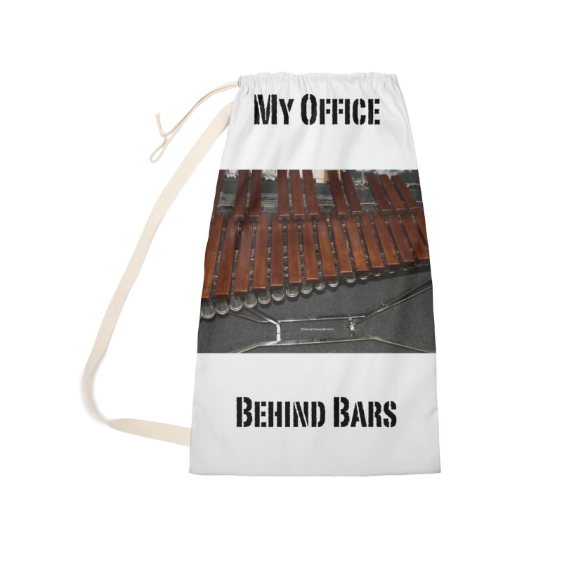 My Office Behind Bars Accessories Laundry Bag Bag by EdHartmanMusic Swag Shop!