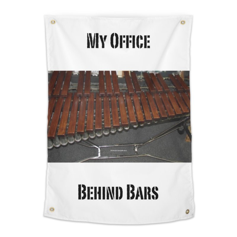 My Office Behind Bars Home Tapestry by EdHartmanMusic Swag Shop!