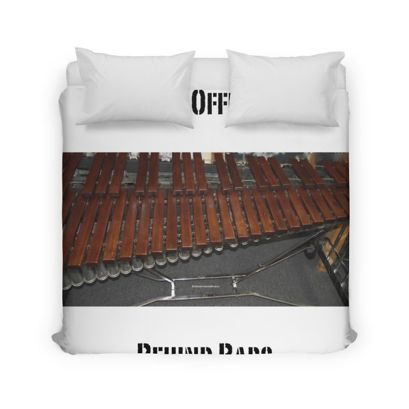 My Office Behind Bars Home Duvet by EdHartmanMusic Swag Shop!