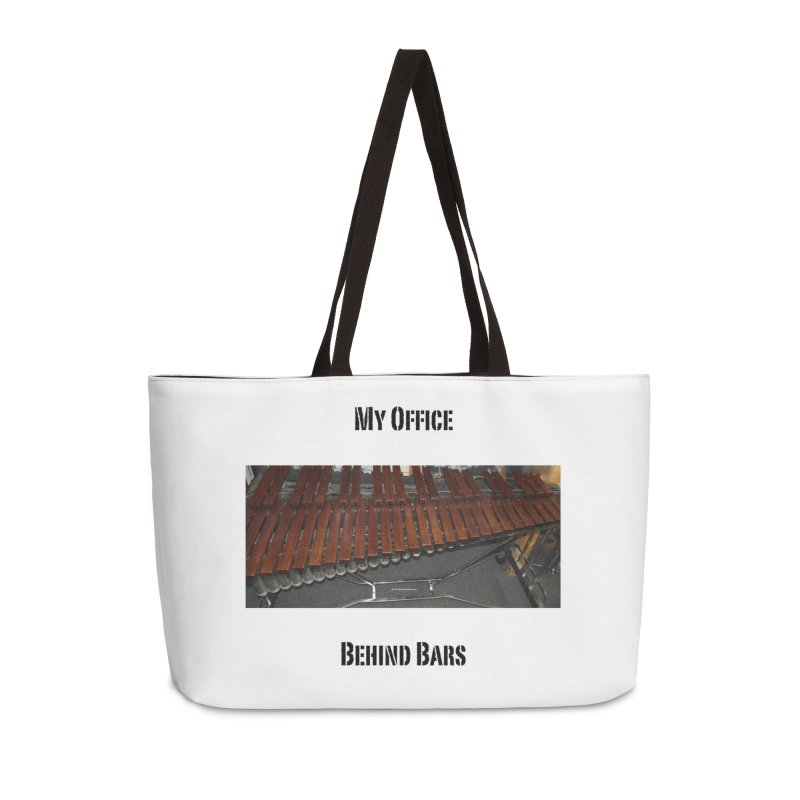 My Office Behind Bars Accessories Weekender Bag Bag by EdHartmanMusic Swag Shop!