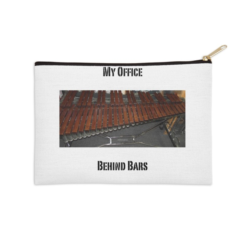 My Office Behind Bars Accessories Zip Pouch by EdHartmanMusic Swag Shop!