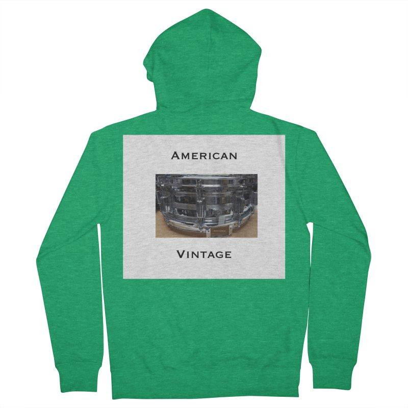 American Vintage Women's Zip-Up Hoody by EdHartmanMusic Swag Shop!