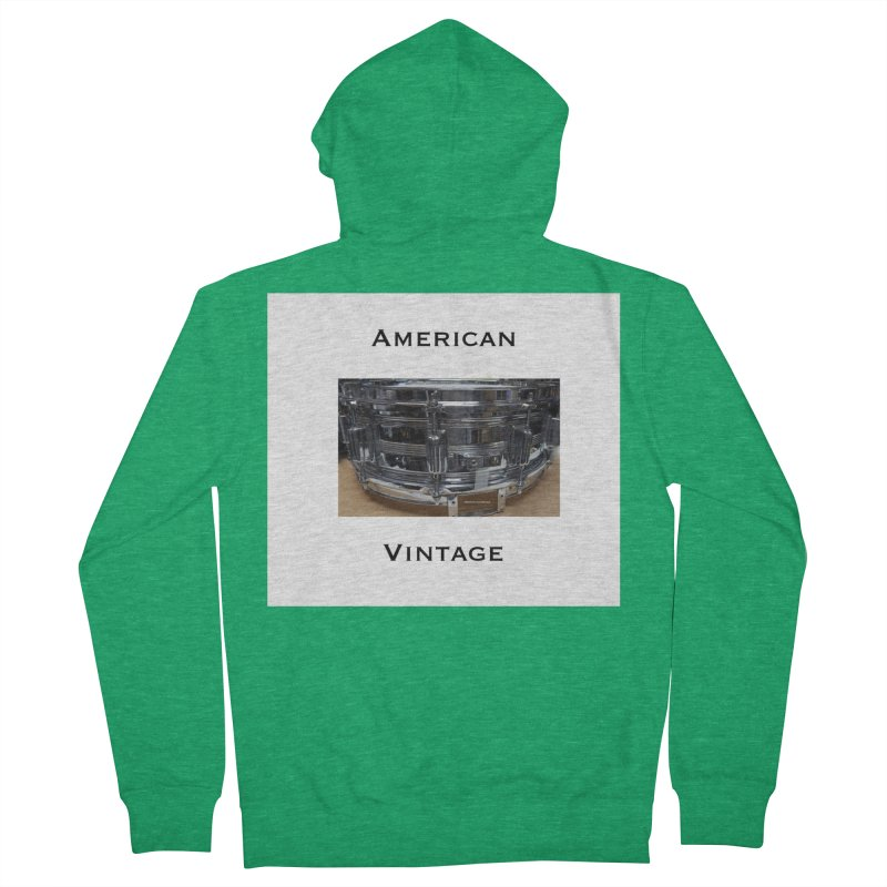American Vintage Men's Zip-Up Hoody by EdHartmanMusic Swag Shop!