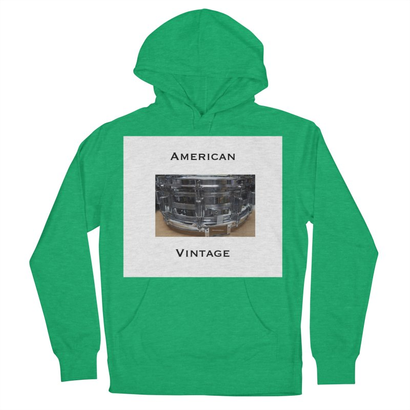 American Vintage Women's French Terry Pullover Hoody by EdHartmanMusic Swag Shop!