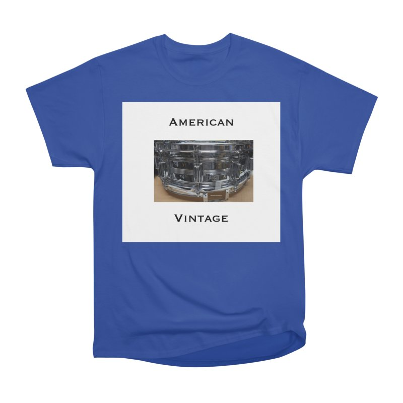 American Vintage Men's Heavyweight T-Shirt by EdHartmanMusic Swag Shop!
